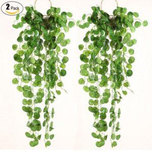 Artificial Green Ivy Vine