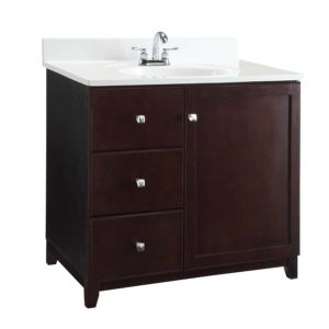 Design House 547018 Shorewood 1 Door 2 Drawer Vanity