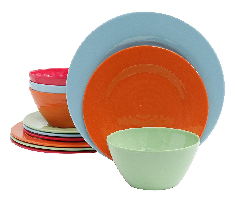 Brist Melamine Dinnerware Set