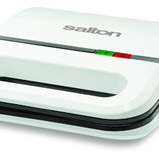 Salton SM1068 Sandwich Maker, White