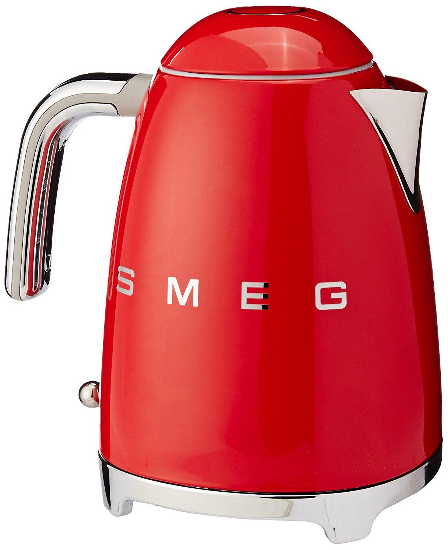 Smeg 1.7-Liter Kettle-Red